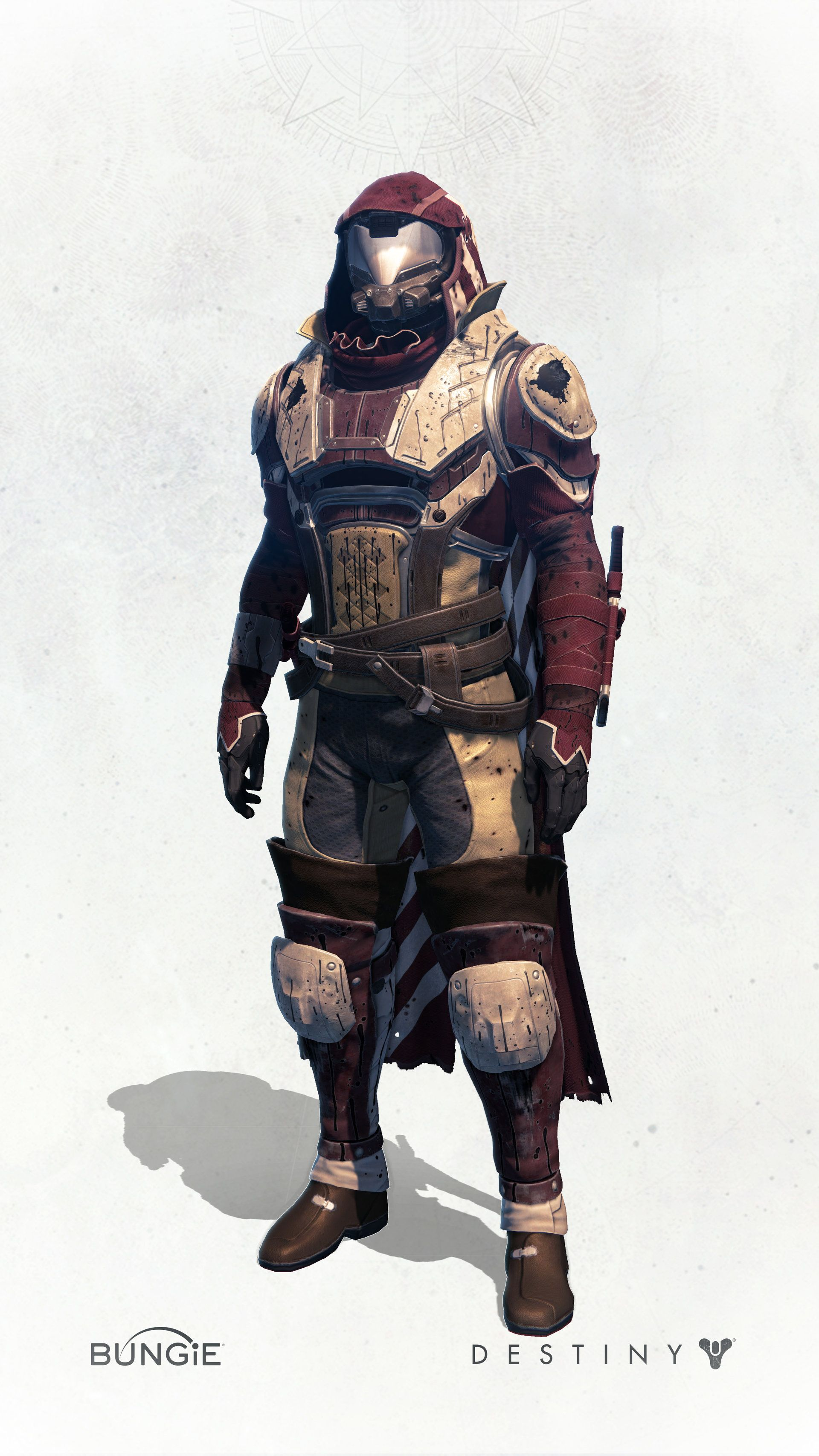ArtStation - Destiny - House of Wolves - Hunter Gear, Ian McIntosh