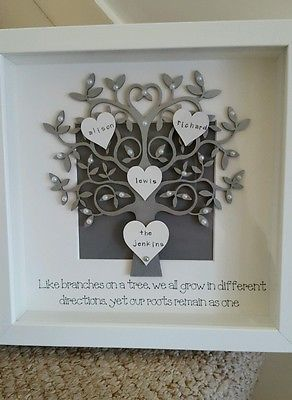 Build Your Own Personalised Wooden MDF Photo Frame Mothers Day Gift 25 Designs