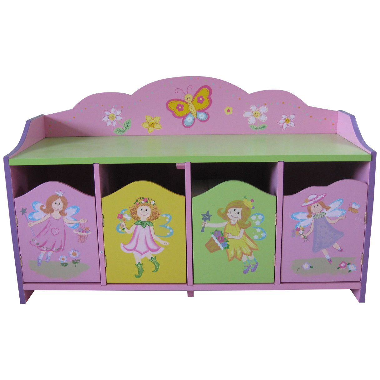 Liberty House Toys Fairy 4 Door Cabinet