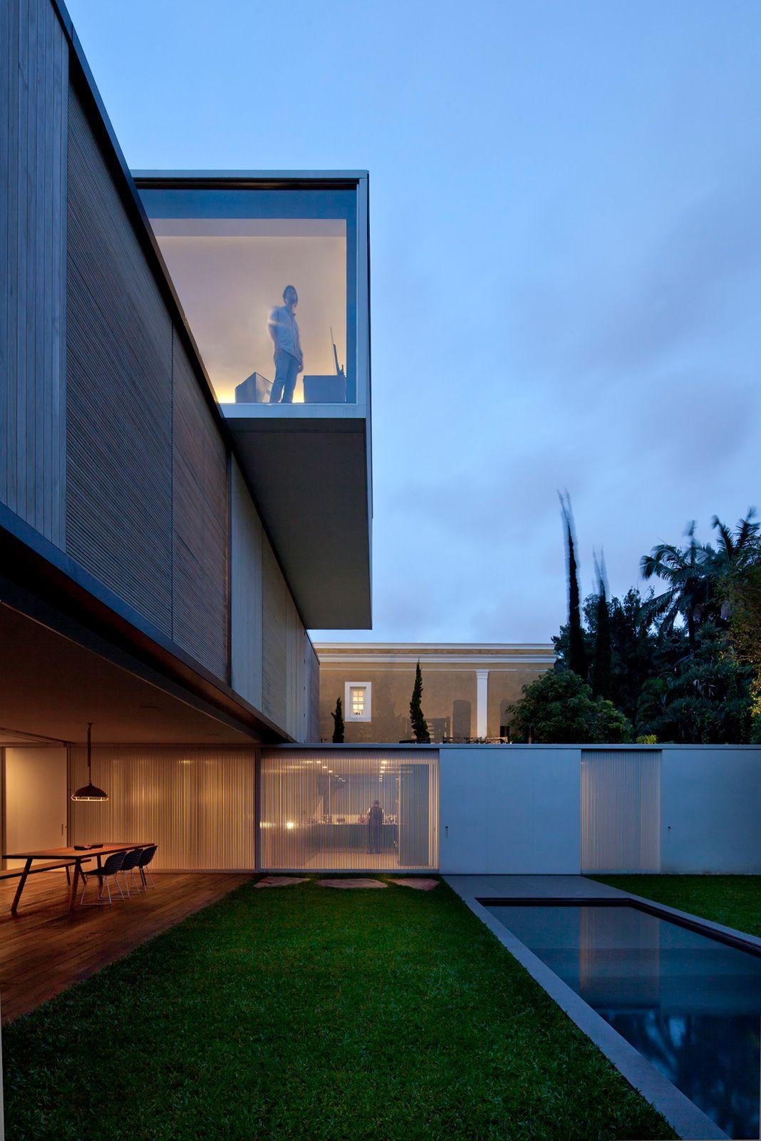 amz arquitetos / casa bélgica, são paulo (paisagismo: rodrigo oliveira)