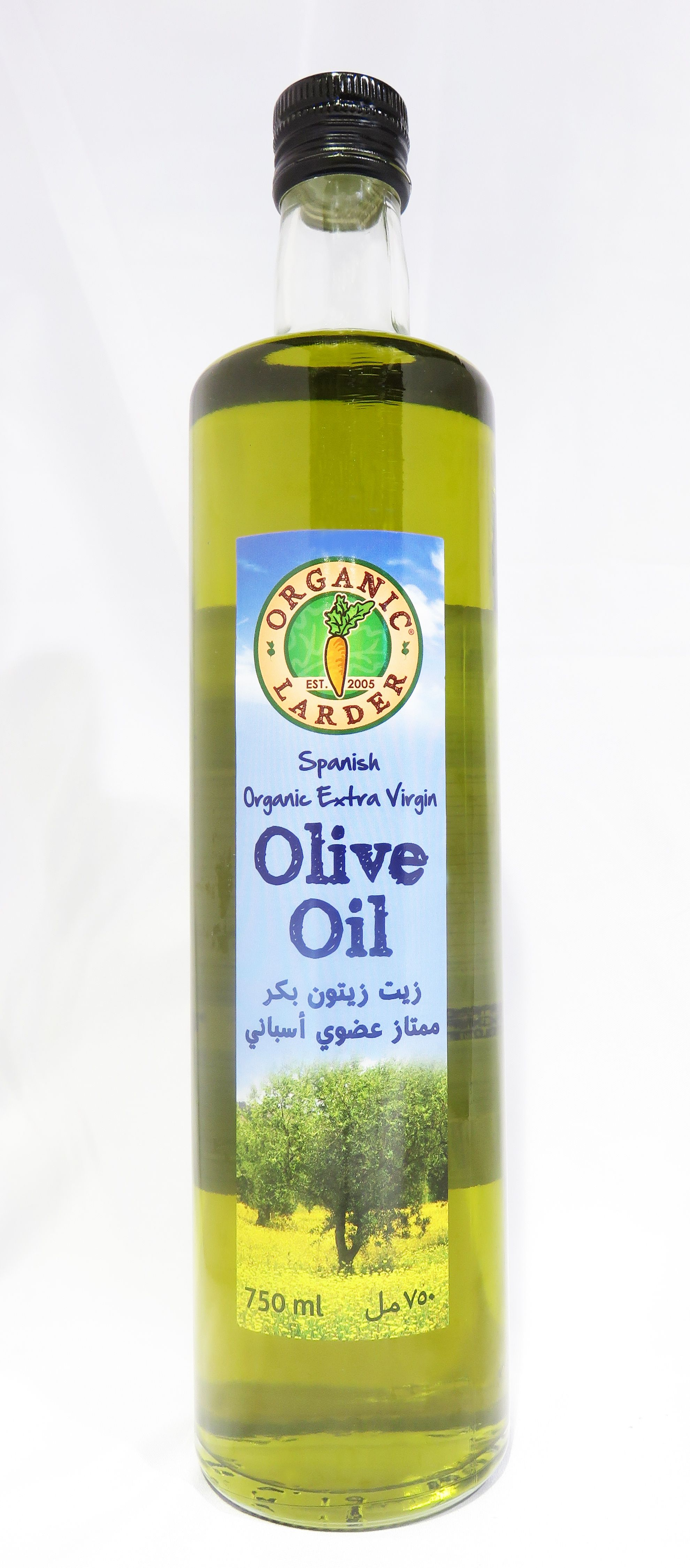 Organic Larder Spanish Organic Extra Virgin Olive Oil 750ml Organic Extra Virgin Olive Oil Organic Recipes Extra Virgin Olive Oil