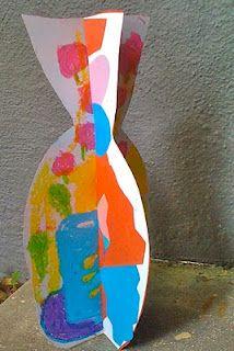 Matisse slotted vases