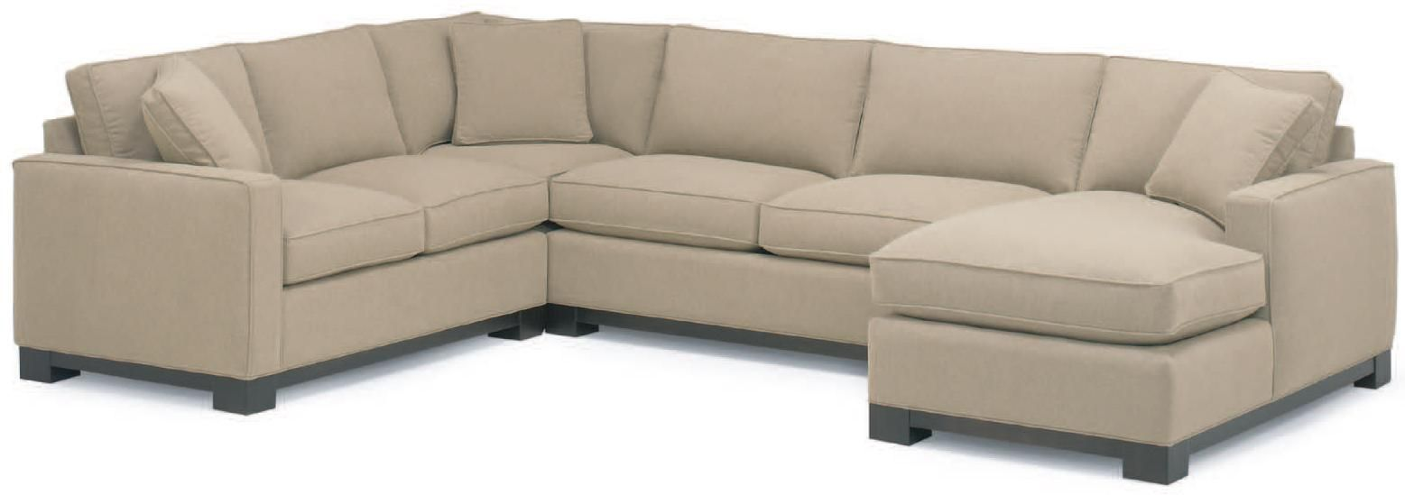 0555 Sectional Sofa By Mccreary Modern
