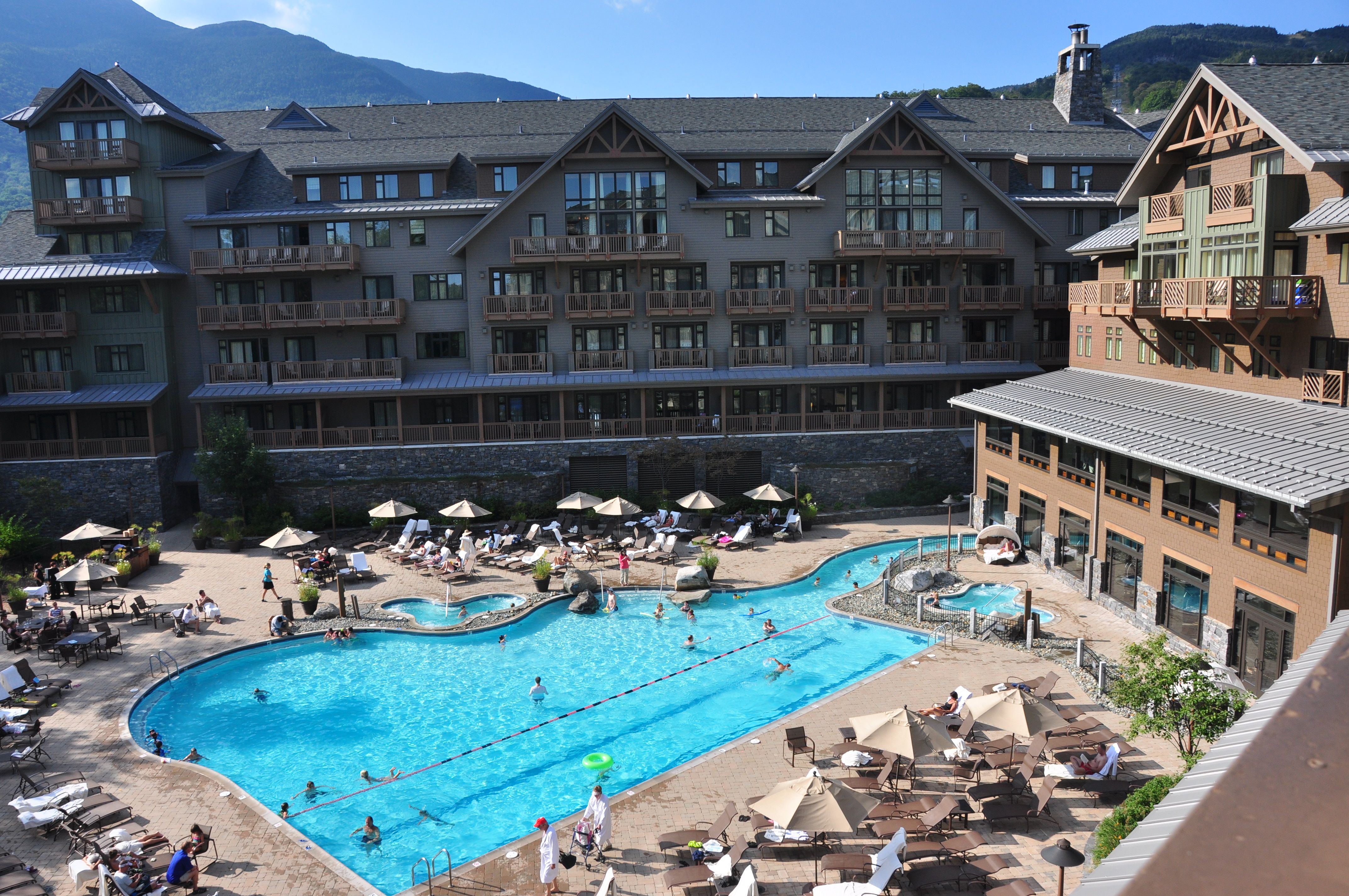 Stowe Mountain Lodge Pool | October road trip 2017 | Pinterest ...