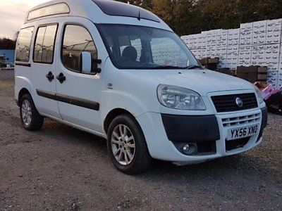 eBay: Fiat Doblo White Wheel Chair accessible 2006 spares and ...
