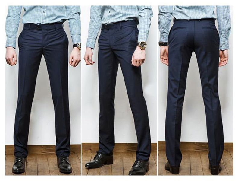 Slim Fit Dress Pants For Guys - Fat Pants
