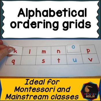 AlphabetLetter Recognition Activity Children Put Cut Out Letters