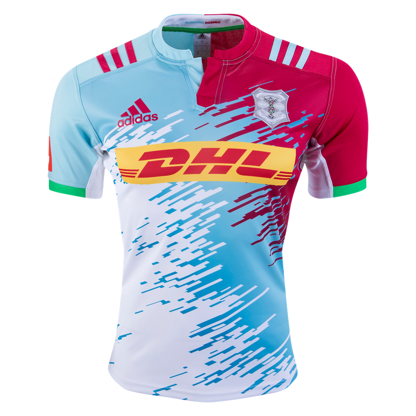 Harlequins 16 17 Alternate Jersey Worldrugbyshop Com Rugby Jersey Design Sports Jersey Design Football Shirt Designs
