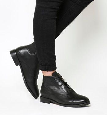 1adcac094f64a Office, Ambush Lace Up Boots, Black Leather | I like | Black leather ...