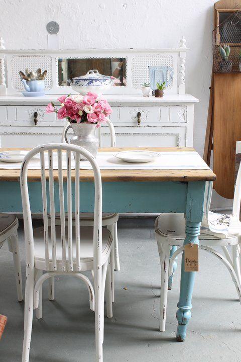 Mesa de campo patas torneadas for home mesas de cocina - Patas torneadas de madera ...