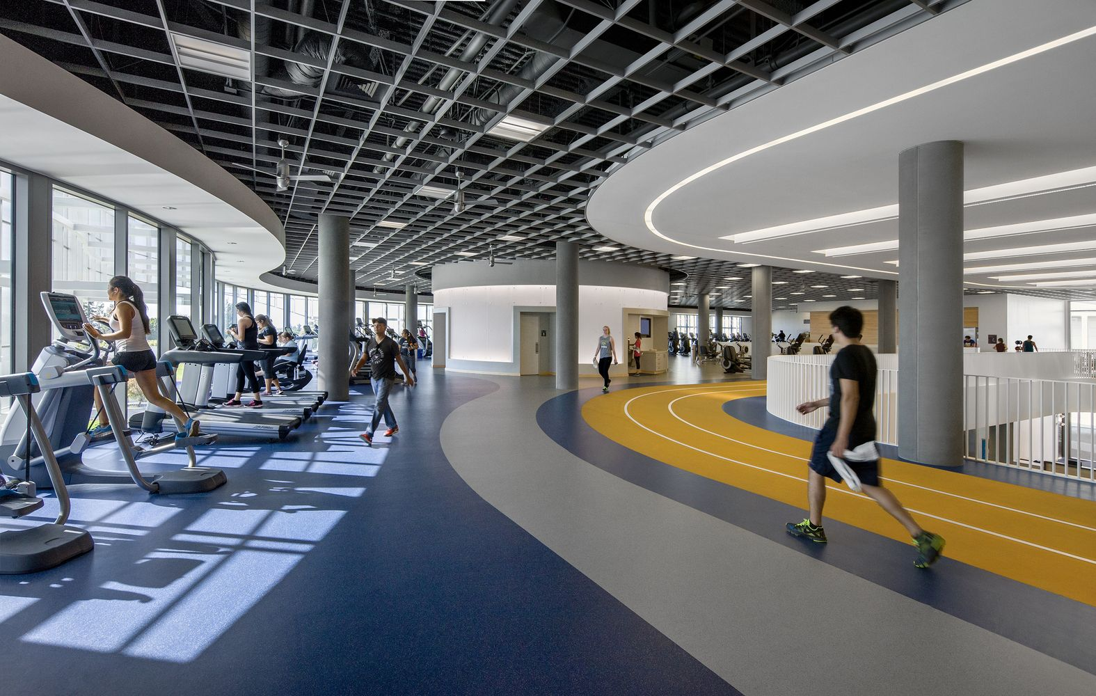 Gallery Of Uc Riverside Student Recreation Center Expansion Cannon Design 10 University Of California Riverside Recreation Centers Gym Interior