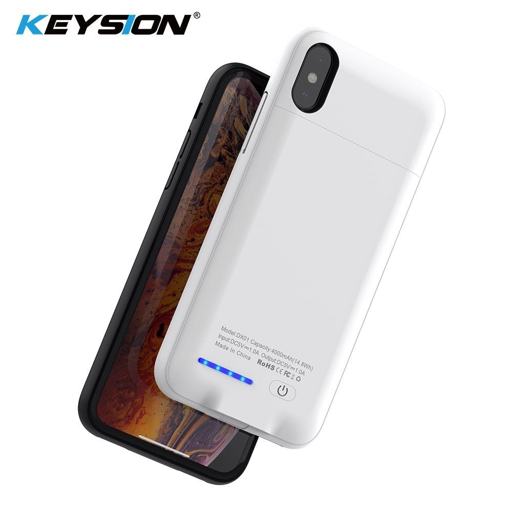 Keysion 4000/5000Mah Battery Charger Case For Iphone Xs Max Xr X