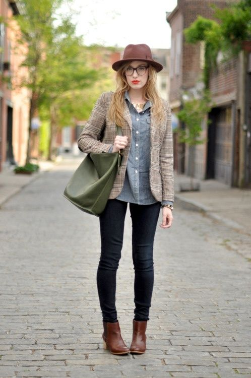 0a24eff8f 15 Inspiring Ways To Wear Ankle Boots11 | Style | Fashion, How to ...