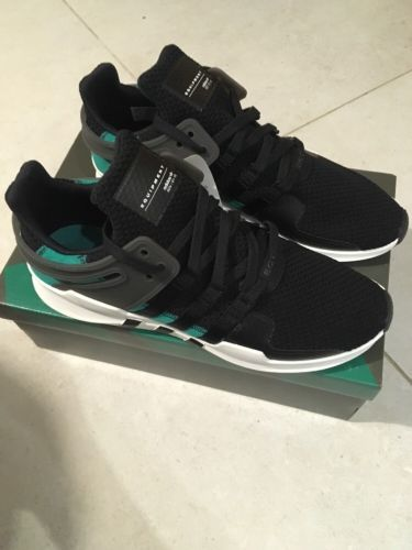 Core Black Lands On The adidas EQT Support ADV