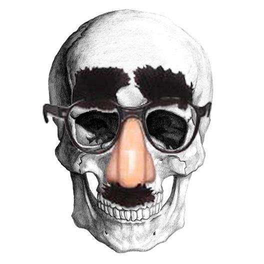 Groucho Skull