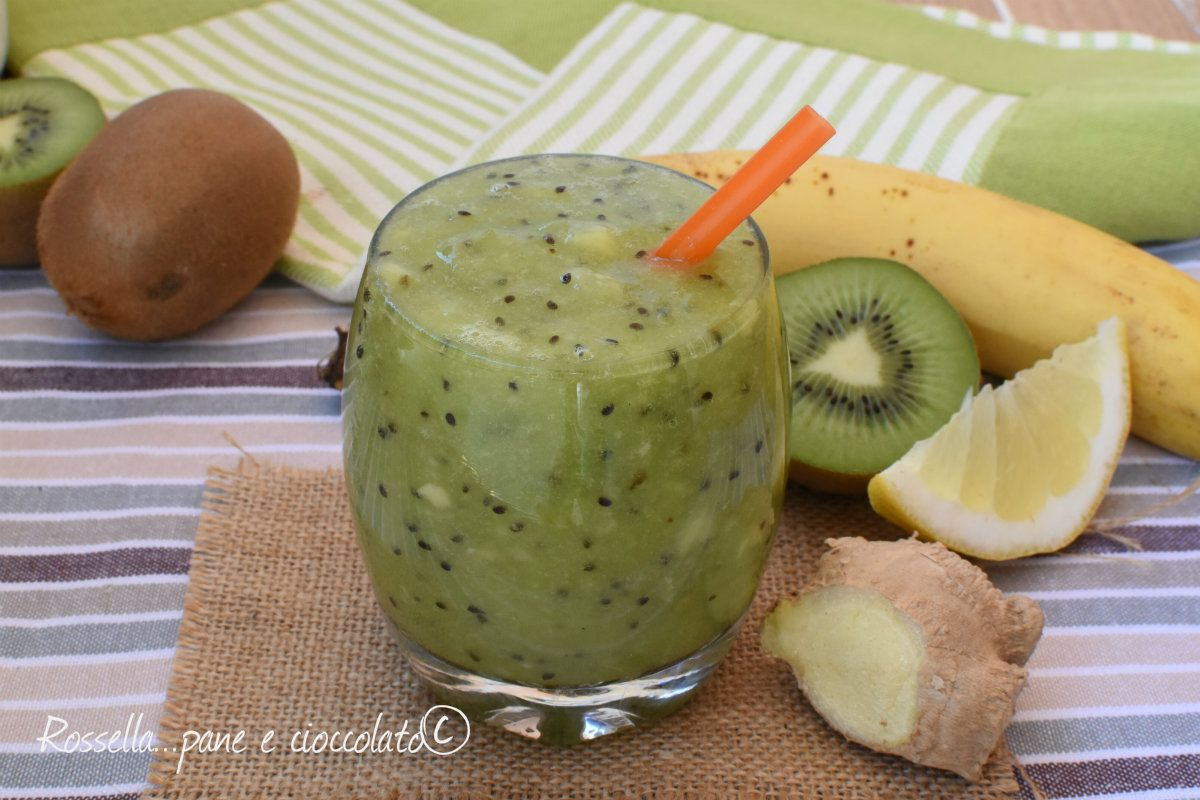 frullato dimagrante al kiwi