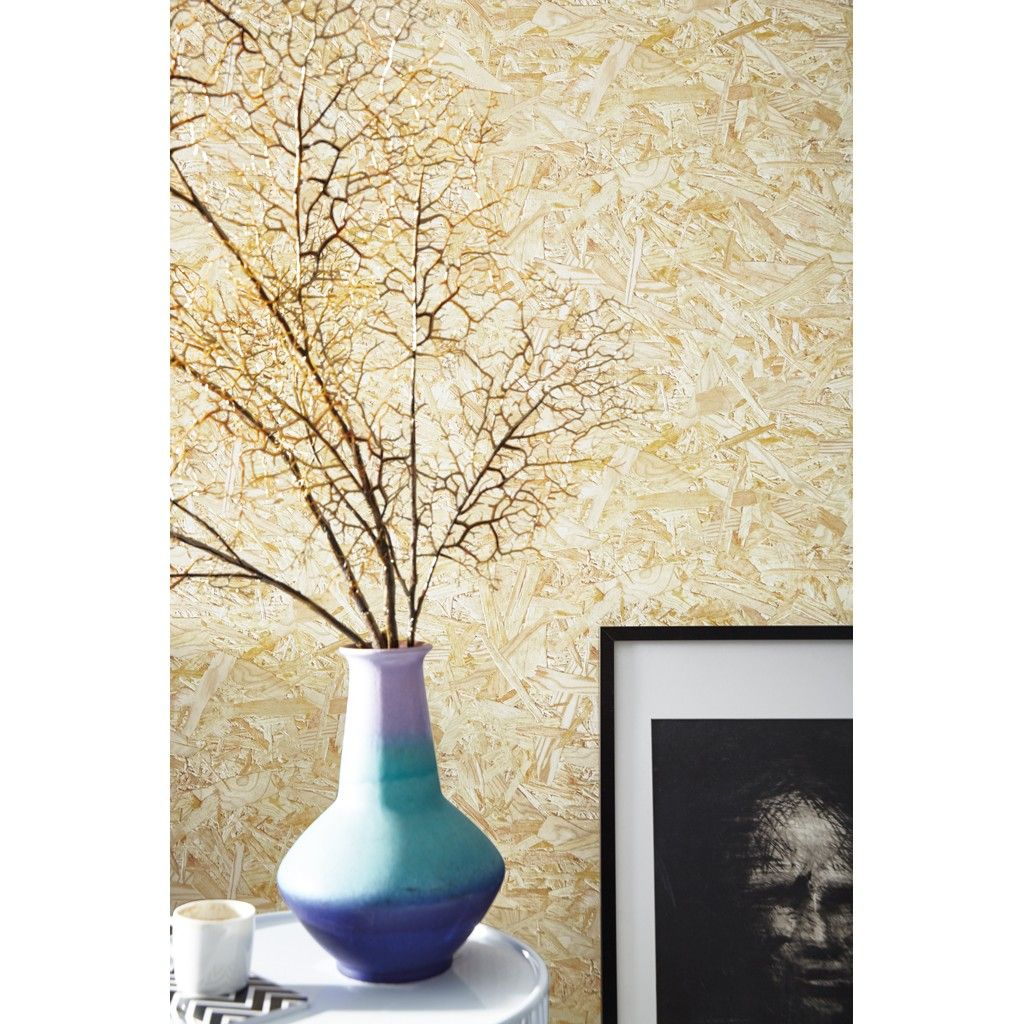 papier peint panneau de particules de bois osb deco id es pinterest bois osb. Black Bedroom Furniture Sets. Home Design Ideas
