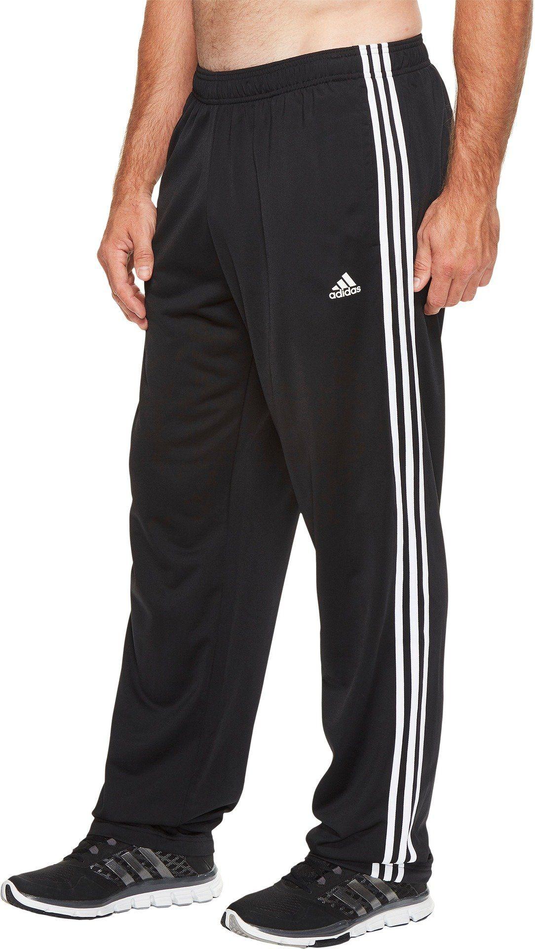 adidas Men's Big & Tall Essentails 3 Stripes Regular Fit