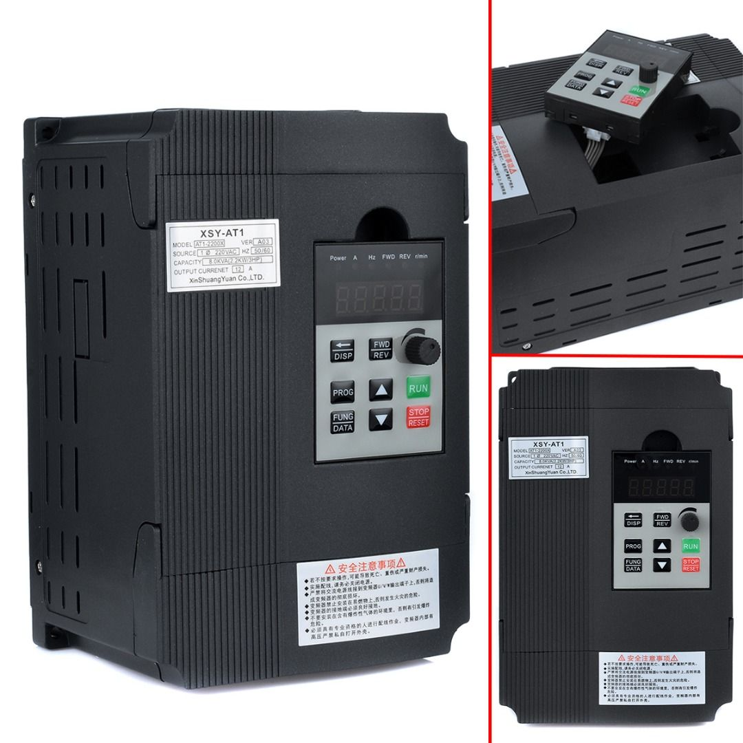 22kw 12a 3hp Single Phase Variable Frequency Inverter Mayitr Speed Drive Electronics Hobby Control Vsd Vfd Pwm Yesterdays Price Us 14137 11725 Eur