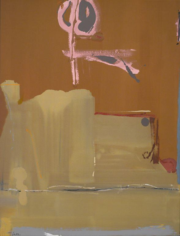 hipinuff: Helen Frankenthaler (American, 1928-2011), Captain's Watch, 1986. Acrylic on canvas
