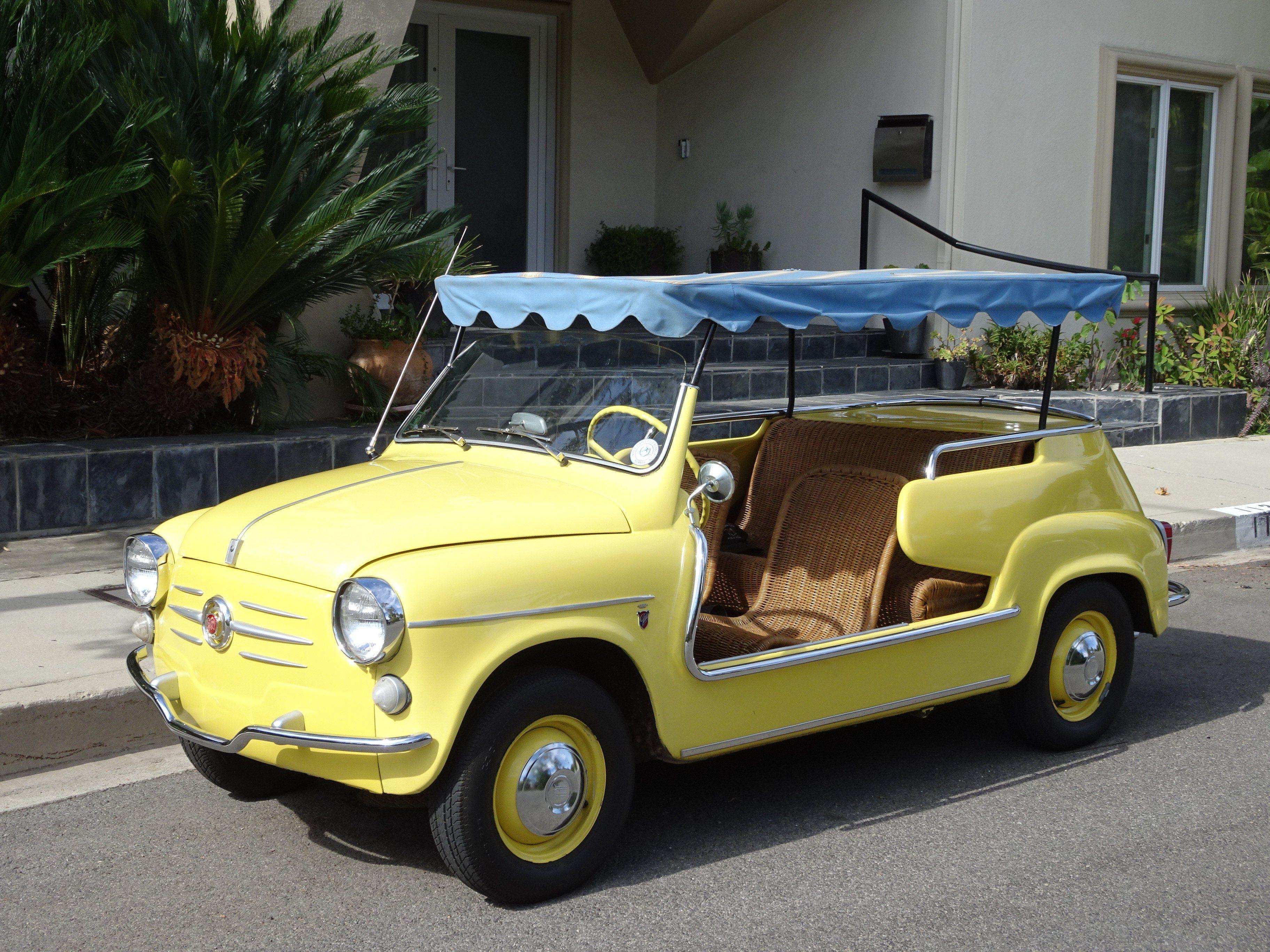 1959 Fiat 600 Spiaggina Jolly Beach Car