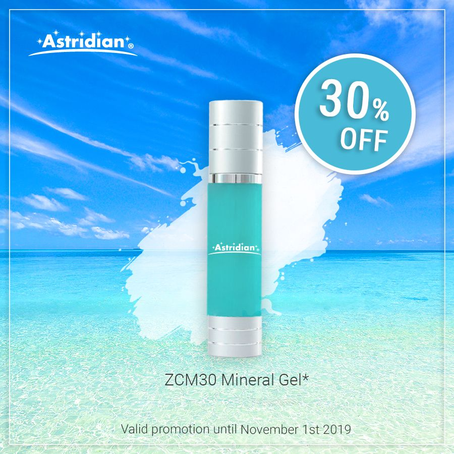 Our ZCM30 Mineral Gel is on sale! Perfect for healing damage caused by Oxidative Stress.   #mineralgel #healthyskin #healingpower #skincare #selfcare #freeradicals #oxidativestress #astridian #bodygel #essentialminerals #backedbyscience