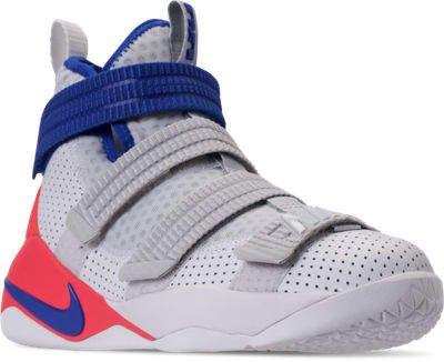 46dc22e35cc Boys  Big Kids  Nike LeBron Soldier 11 SFG Basketball Shoes ...