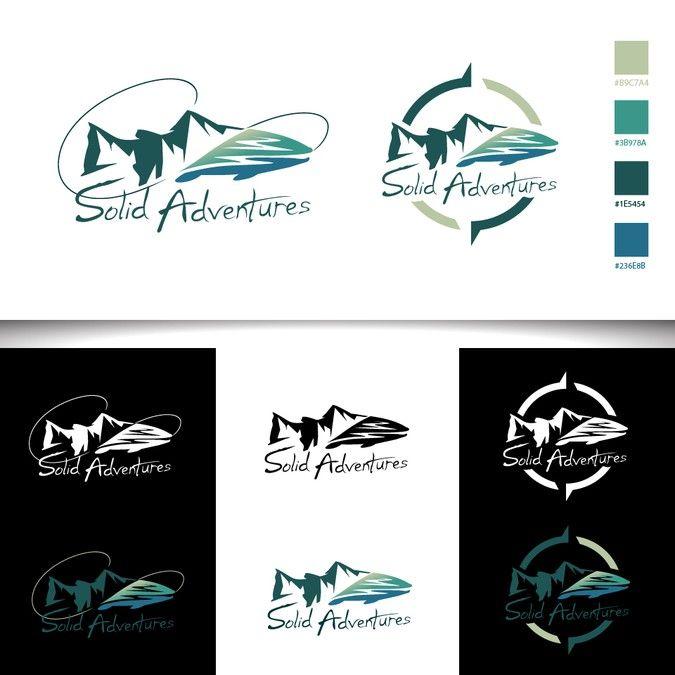 Logo For A Global Destination Sport Fishing Company By Muchsin41 Adventure Logo Company Logo Design Logo Design Contest