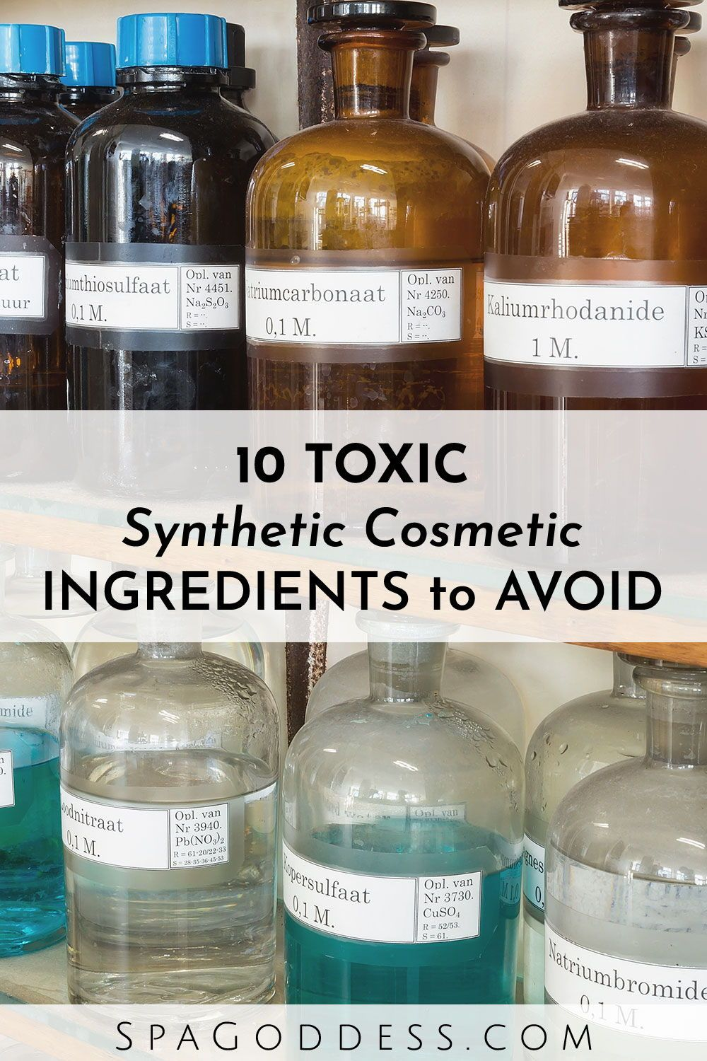 10 Synthetic Cosmetic Ingredients to Avoid | Spa Day + Self