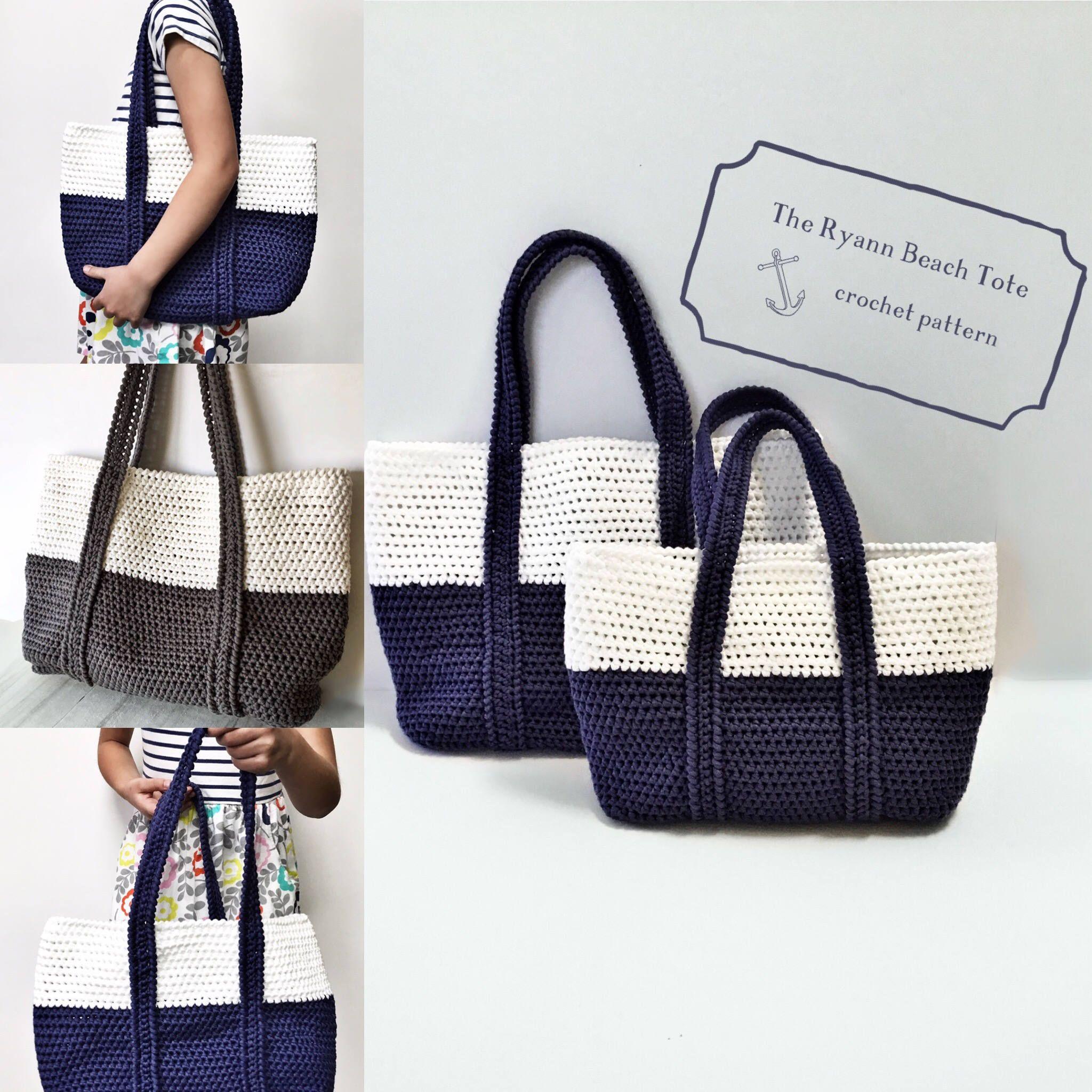 Nice Crochet beach bag Pattern #crochetpattern #artandcrafts #diy ...
