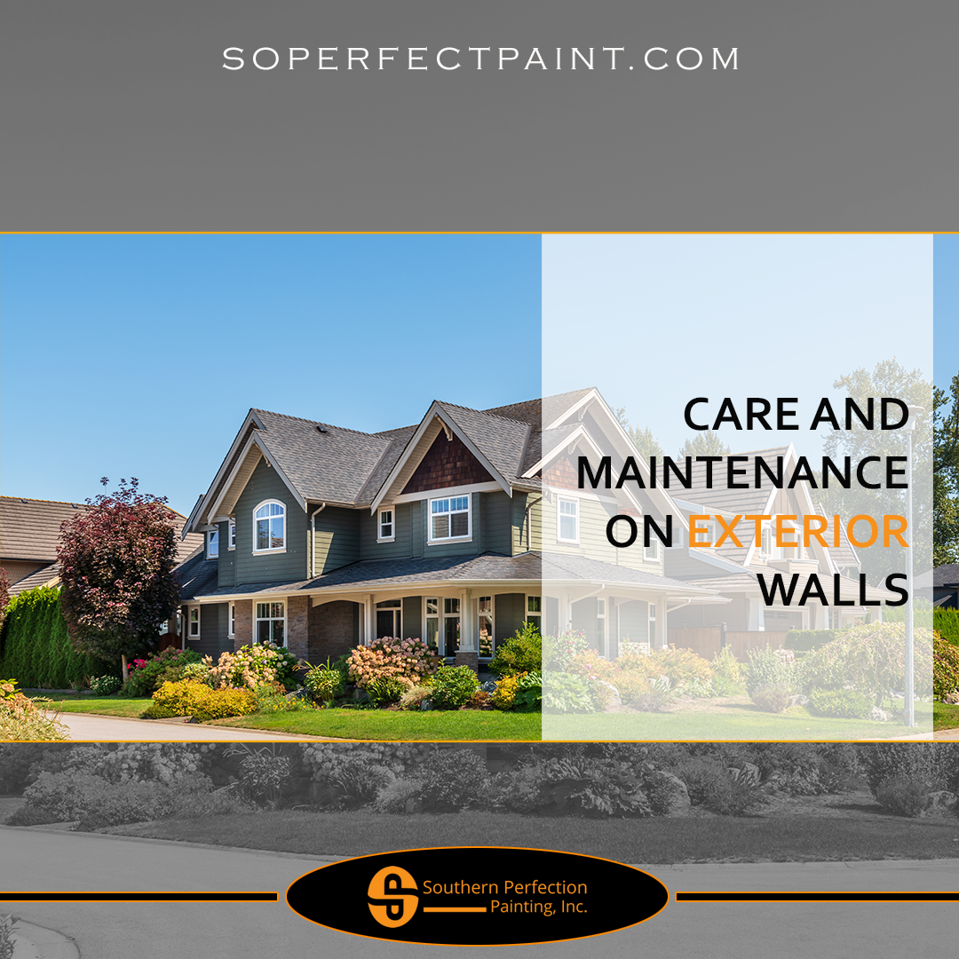 Residential Exterior Services: Residential Painting Services: Care And Maintenance On
