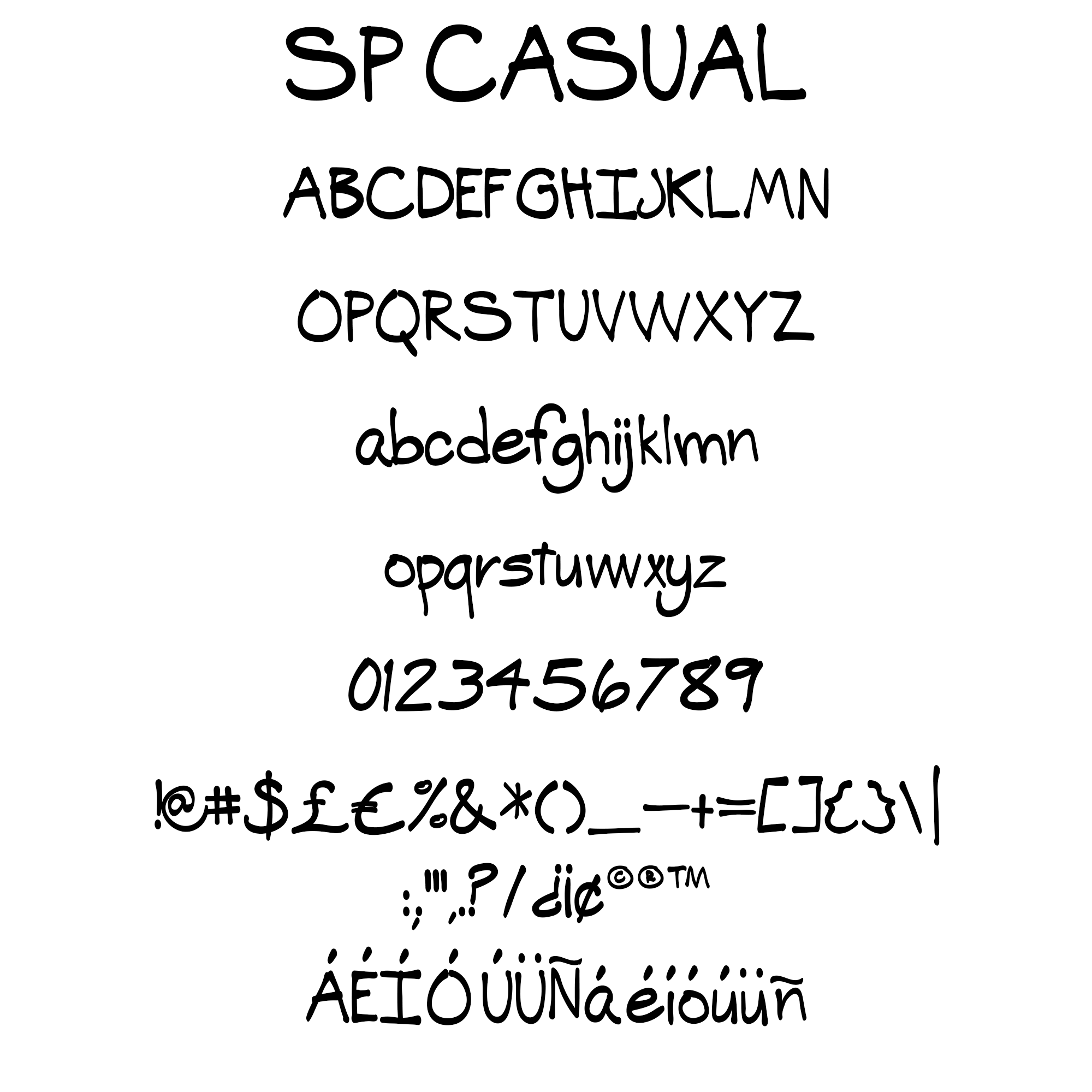 Price 800 A Casual Style Font That Is Excellent For Comic Book Lettering Greeting