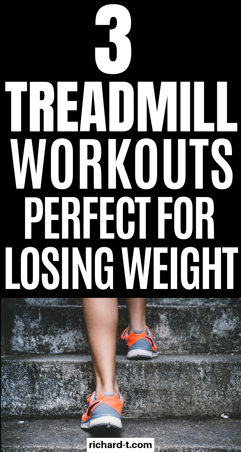 3 Intense interval treadmill workouts to not get bored and lose weight fast! #loseweight #bodyweight...