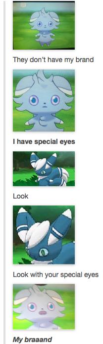 Espurr Has Special Eyes Pokemon Pinterest
