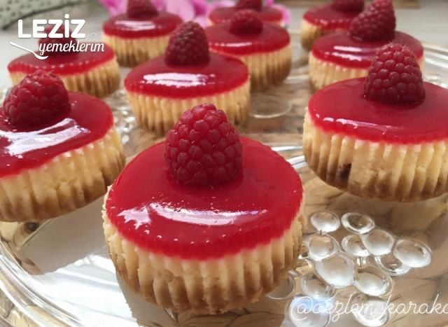 Photo of Raspberry Mini Cheesecakes