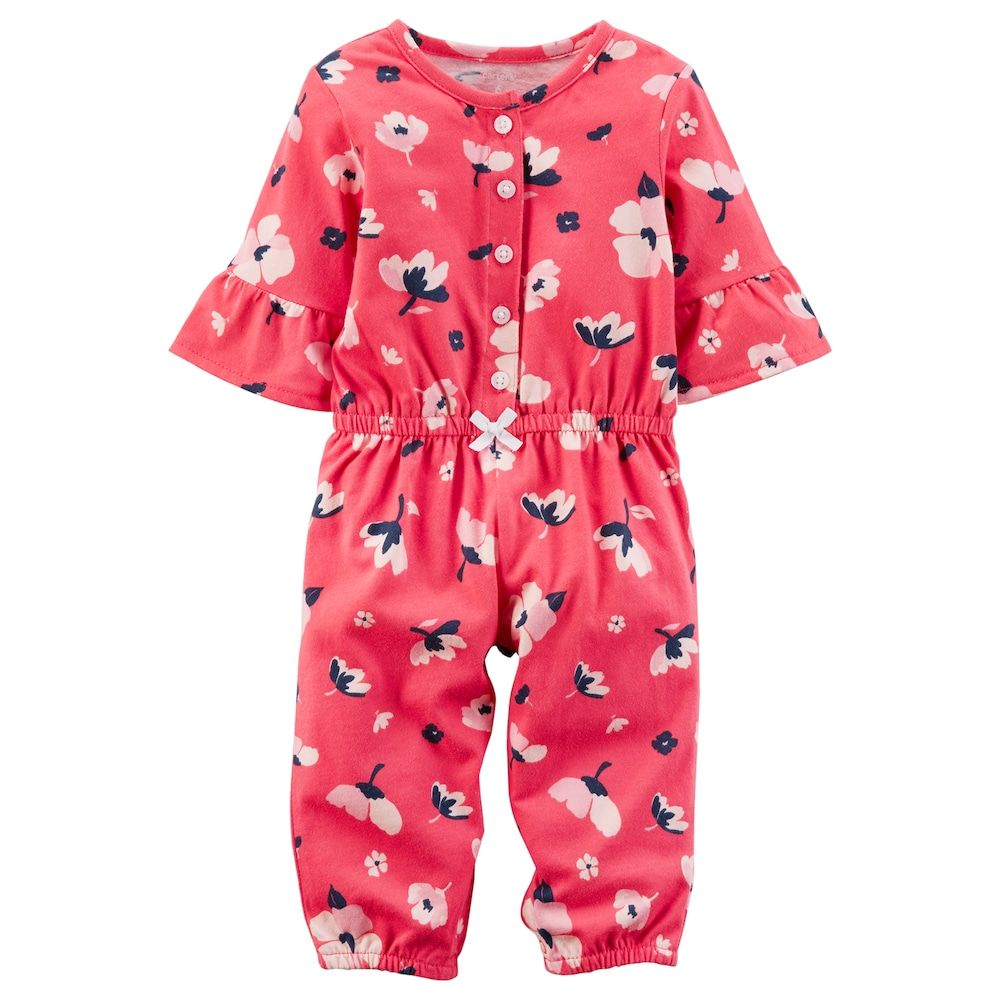 3216774fb93 Baby Girl Carter s Floral Print Romper