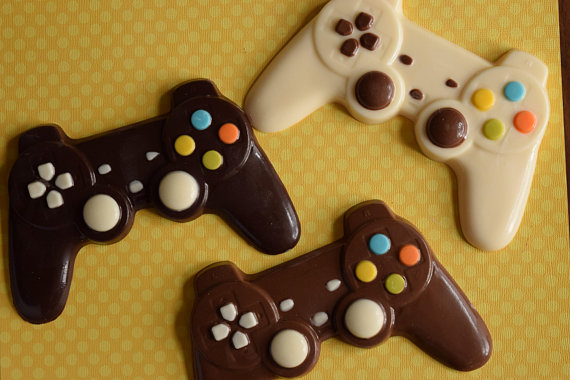 Video Game Controller Chocolate Gift Ps4 Xbox Gifts For Him Fathers Day Gift Dad Gift Video Game Party Food Chocolate Gifts Xbox Gifts