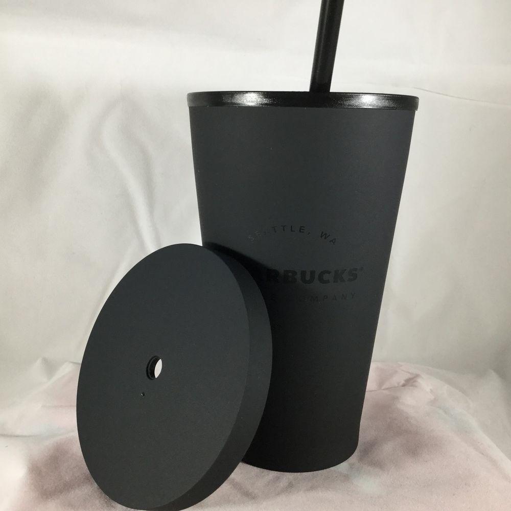 67d66d75a1a New Starbucks Acrylic Cold Cup 16 Oz. Matte Black - #Starbucks ...