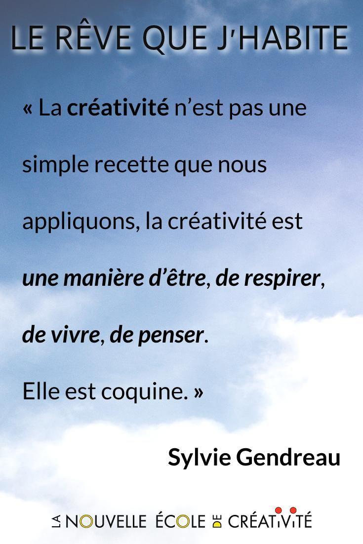 5f2865d65d4dc La #créativité n'est pas une simple recette que nous appliquons, la  créativité est une manière d' #être, de #respirer, de #vivre, de #penser.