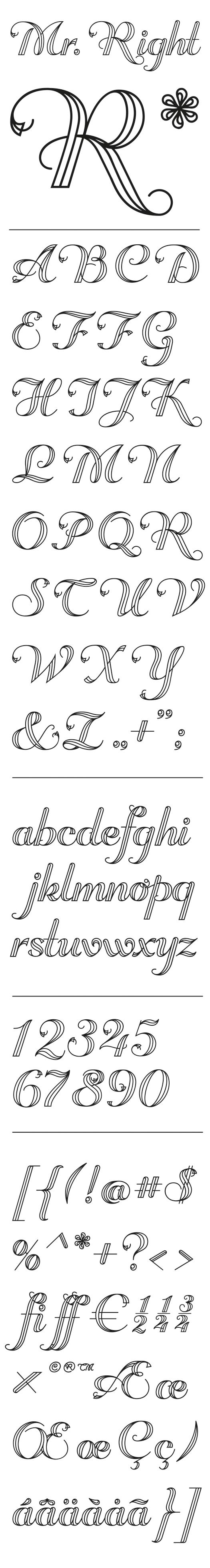Simple Alphabet Letters That Can Be Drawn By Hand Journal Lettering Font Easy Great For Journaling Scrapbooking