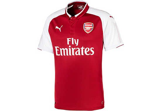 85c551809 Puma Kids Arsenal Home Jersey 2017-18
