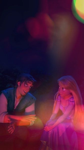 From Tumblr. Tangled iPhone wallpaper! :) (With images ...
