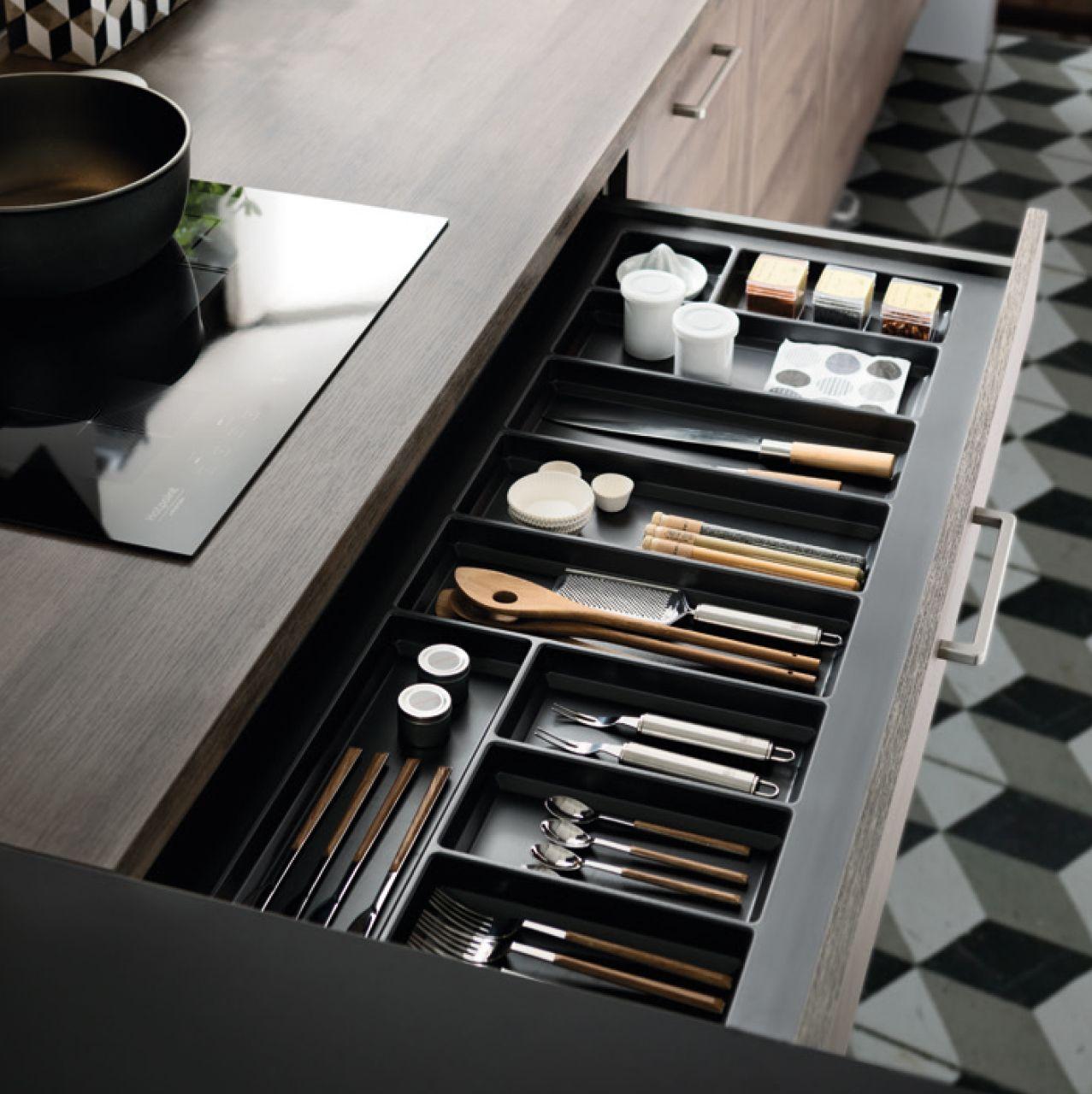 range couverts tiroir cuisine schmidt