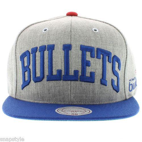 the best attitude 07e12 72b37 NBA Washington Bullets Snapback Mitchell   Ness