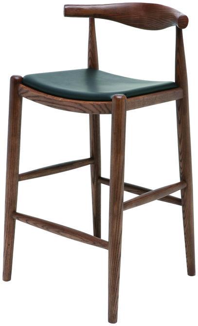 nuevo maja leather counter stool in black products pinterest rh pinterest co uk