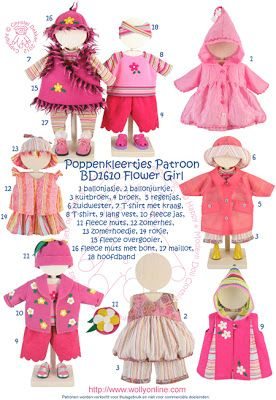 Wollyonline Blog: Doll Patterns 43cm