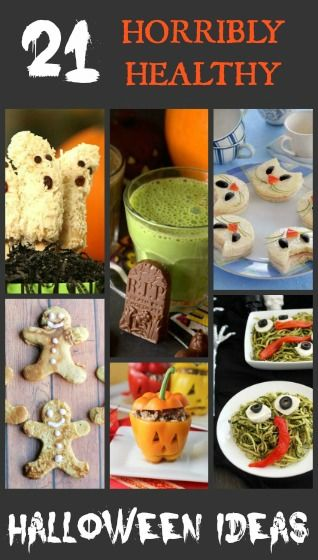 21 horribly healthy halloween kids party food ideas for for Halloween food ideas for preschoolers