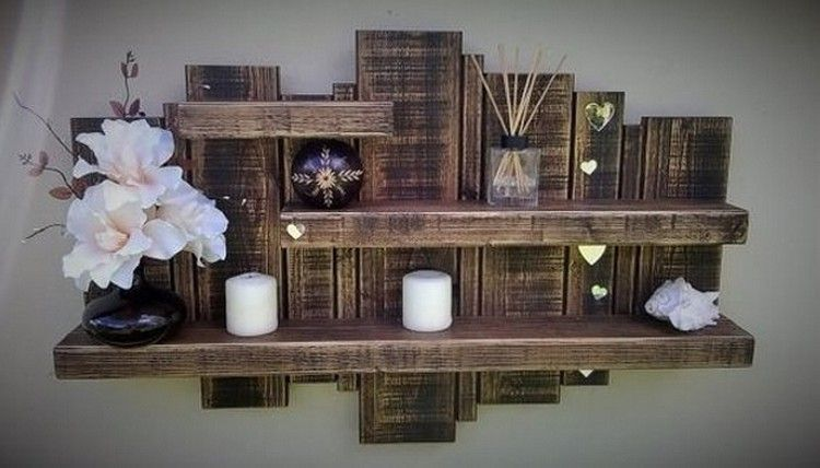Wood Pallet Shelf More