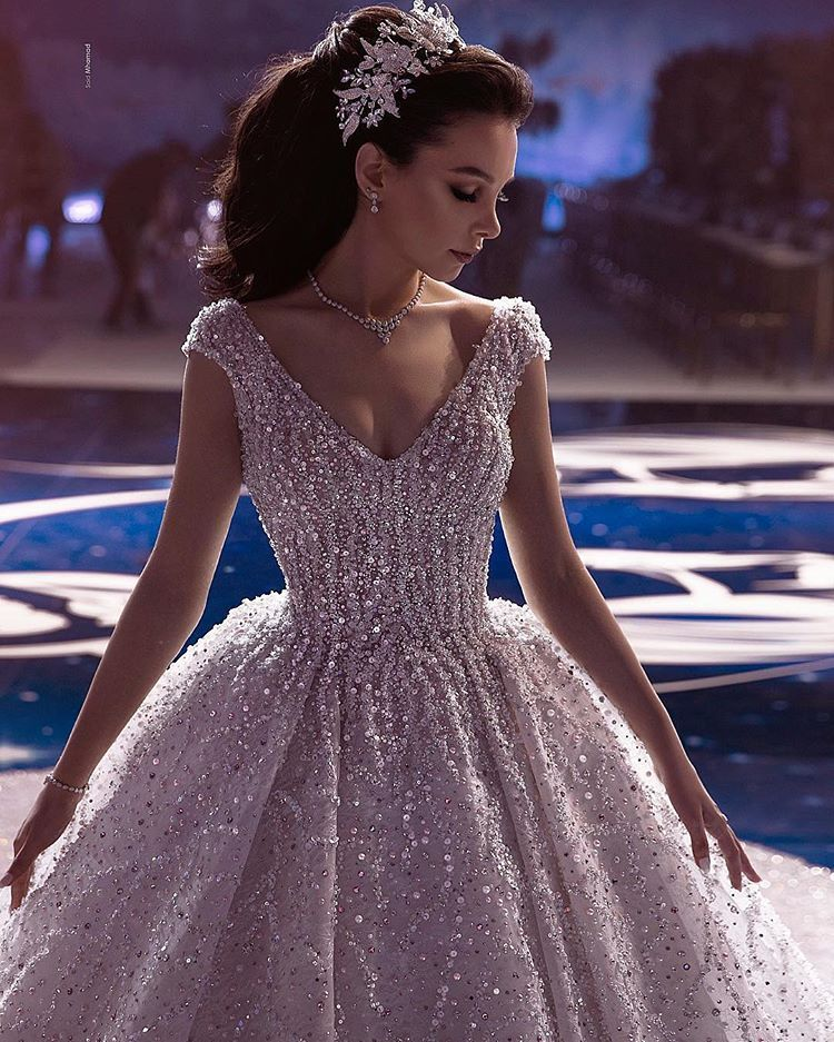 weddingdresses Wedding dresses, Fancy dresses long, Gowns
