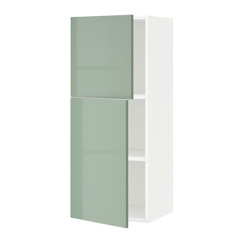 Best Metod Wall Cabinet With Shelves 2 Doors Kallarp High 640 x 480